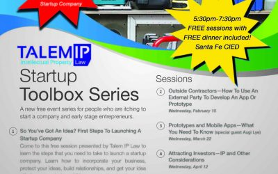 Startup Toolbox Series – January 18th